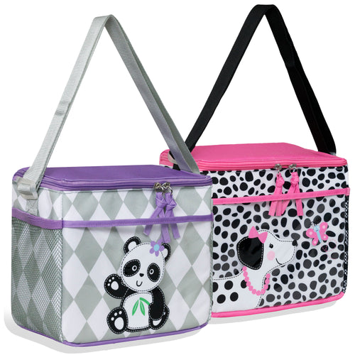 Wholesale Girls Character Diaper Bags - 48 Bags Per Case - Free Shipping