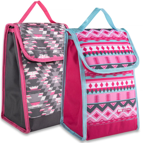 Wholesale Girls Insulated Lunch Bag - 24 Bags Per Case - Free Shipping