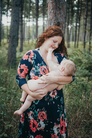 Birth Breastfeeding Newborn Photography