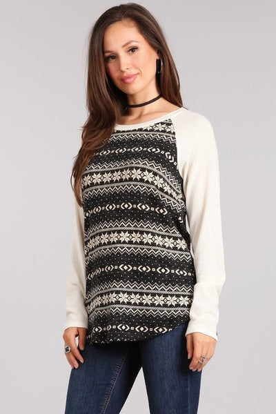 Baseball Maternity Sweater