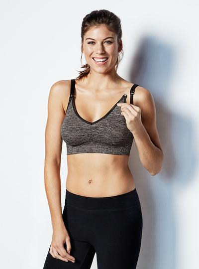 Body Silk Seamless Yoga Nursing Bra