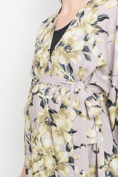 Floral Maternity, Labor & Nursing Robe