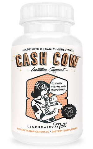 Cash Cow Organic Lactation Blend