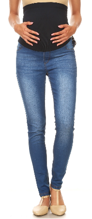 Belly Band Maternity Jeans
