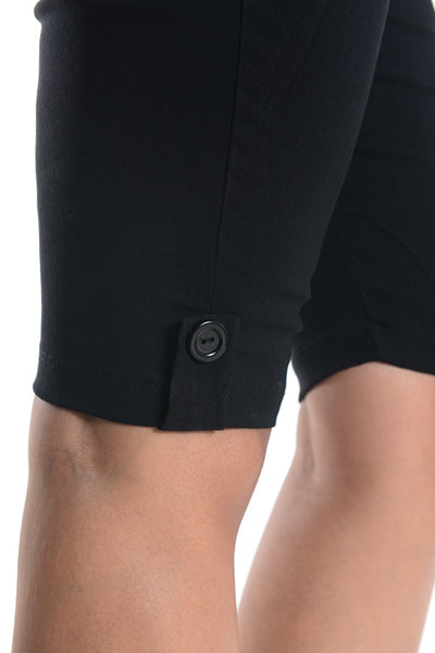 Straight Leg Maternity Shorts