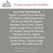 Orange GingerAid Lip Balm