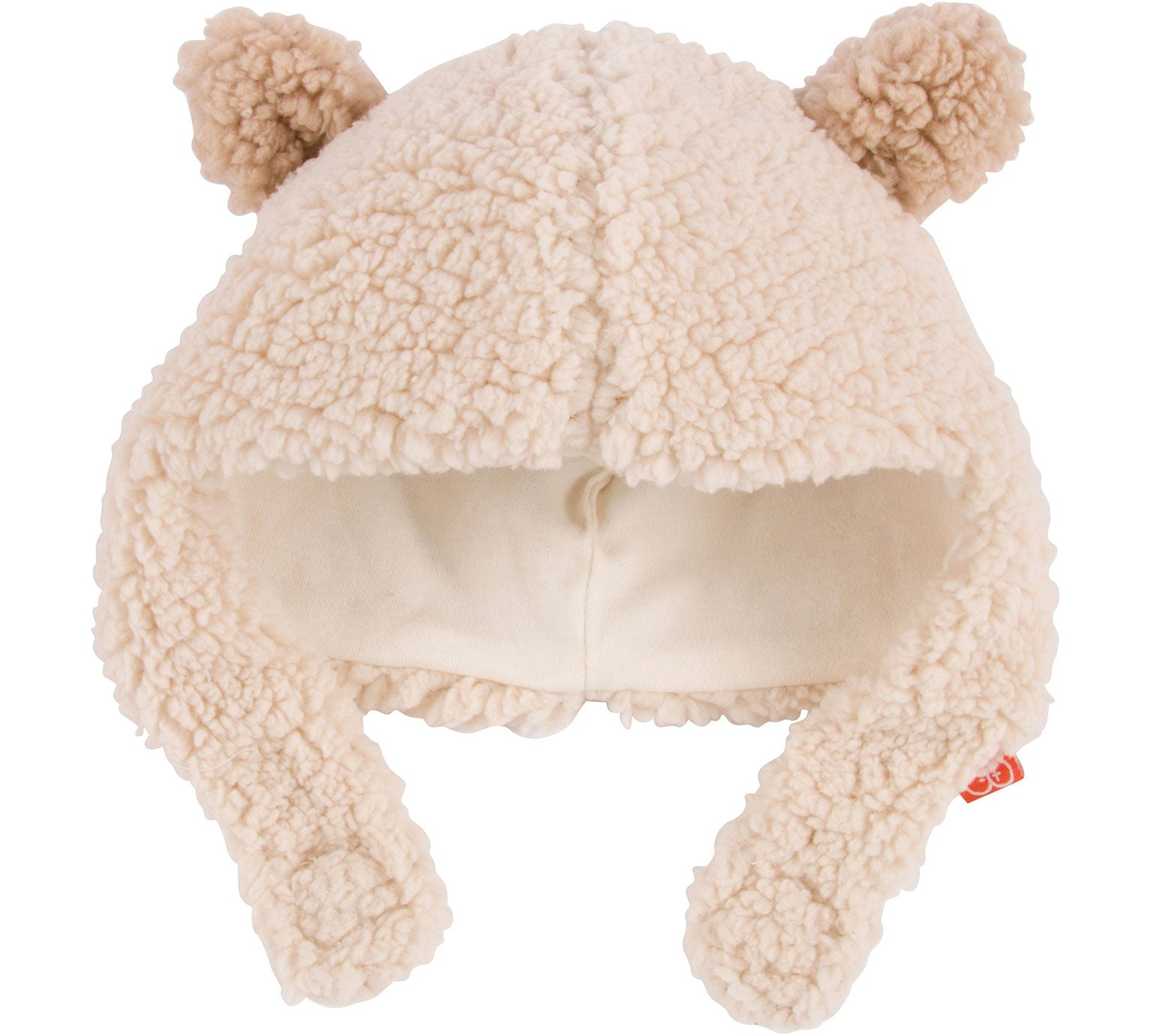 Little Bear Fleece Magnetic-Closure Hat