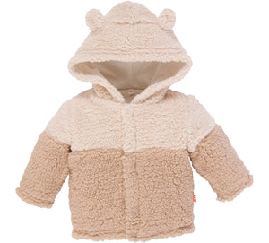 Little Bear Fleece Magnetic-Closure Jacket