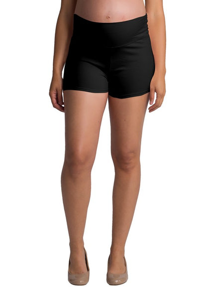 Fold Over Lounge/Yoga Shorts