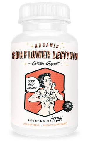 Organic Sunflower Lecithin Softgels
