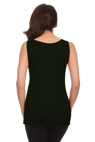 Surplice V-Neck Nursing Tank
