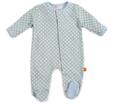 Magnetic Closure Infant Footie