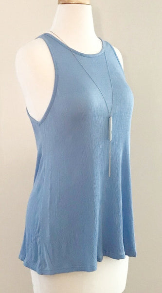 Ribbed Racerback Maternity Tank Top