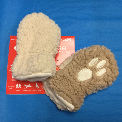 Little Bear Fleece Magnetic Mittens