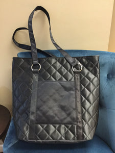 Quilted Breast Pump Tote