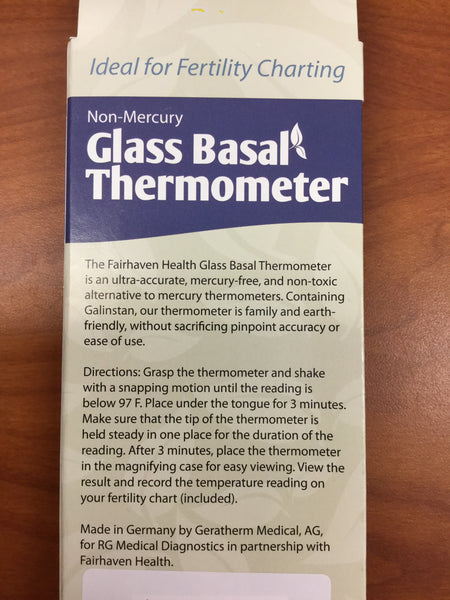 Glass Basal Thermometer