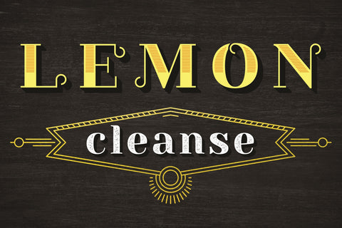 Lemon: To Cleanse