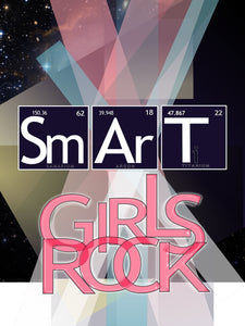 Wall Art Canvas Print: Smart Girl