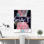 Image of Wall Art Canvas Print: Smart Girl
