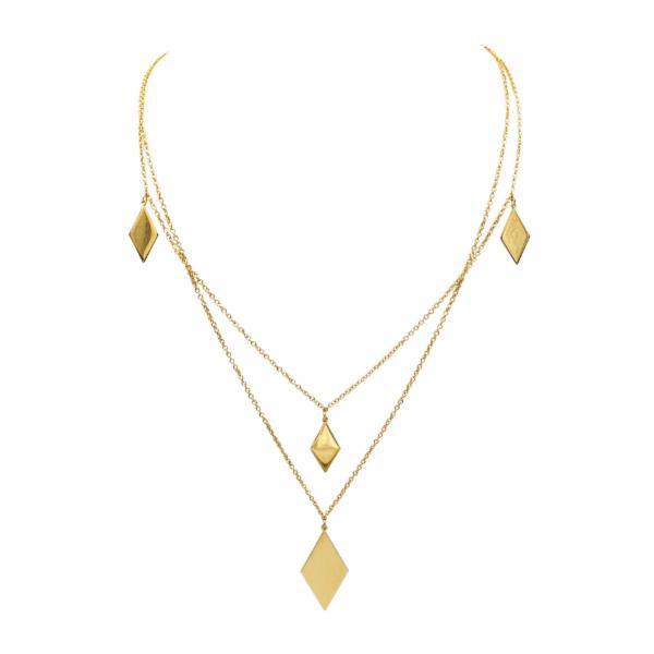 Stassi Layered Necklace - Erin Edit Shop