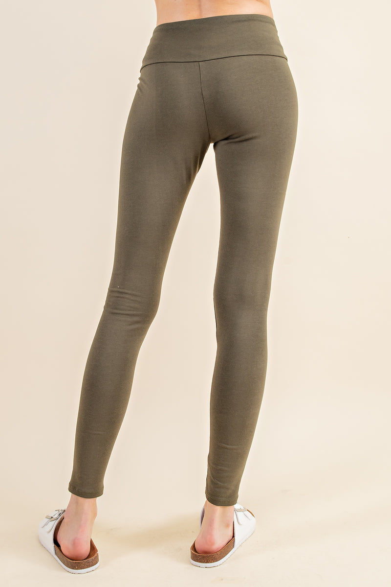 PERFECT COTTON LEGGINGS