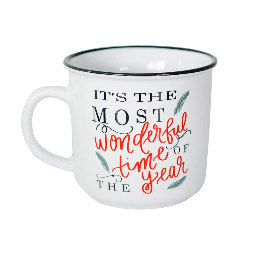 IT'S THE MOST WONDERFUL TIME OF THE YEAR CAMPFIRE MUG - Erin Edit Shop