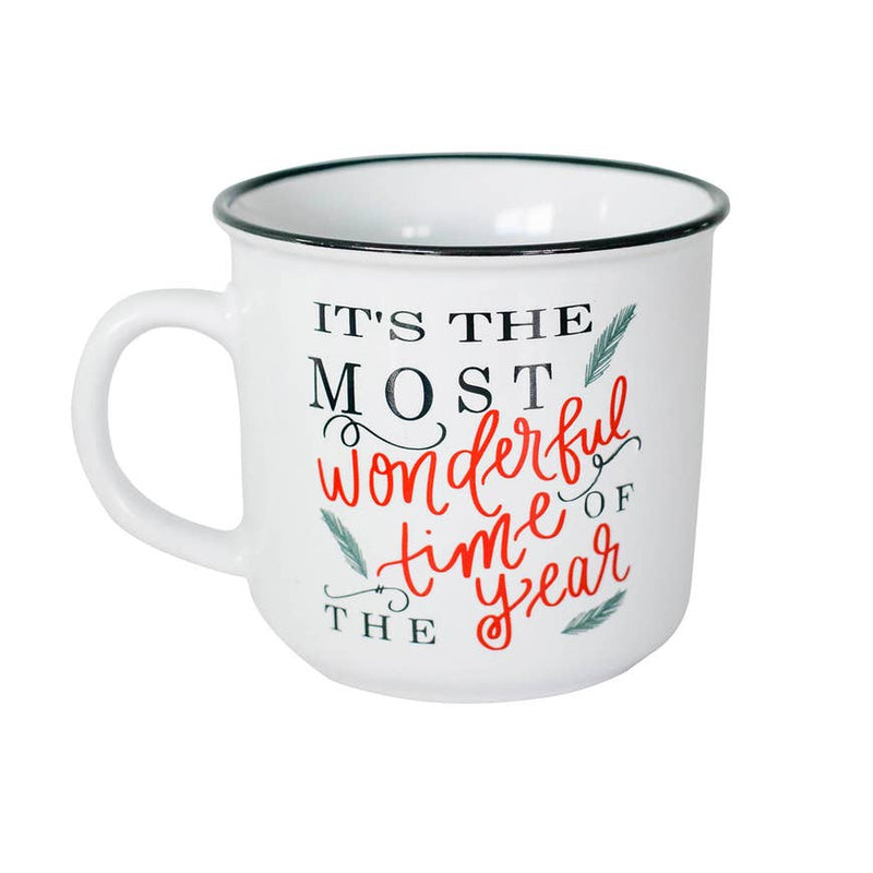 IT'S THE MOST WONDERFUL TIME OF THE YEAR CAMPFIRE MUG