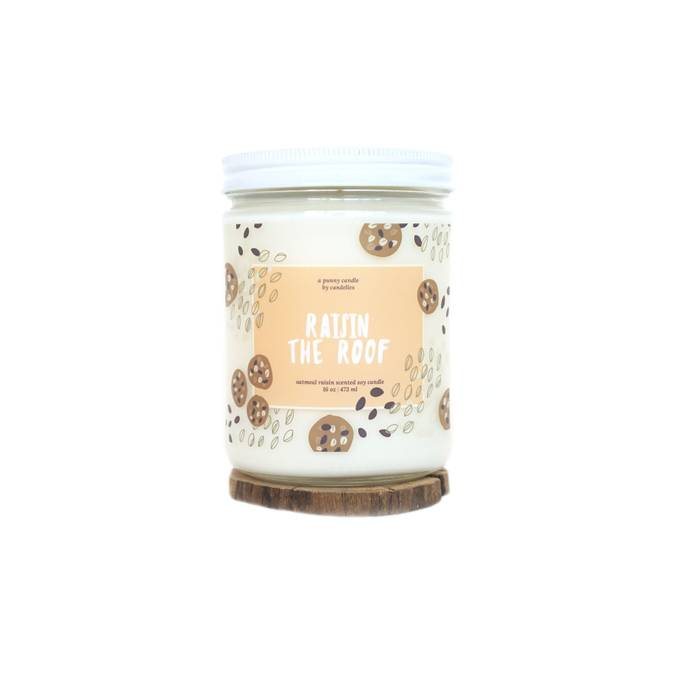 RAISIN THE ROOF - SOY CANDLE - Erin Edit Shop