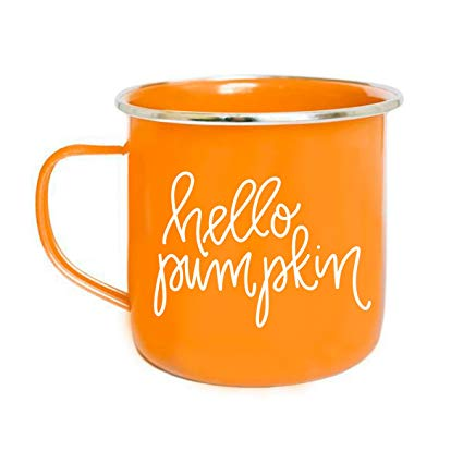 HELLO PUMPKIN CAMPFIRE MUG - Erin Edit Shop