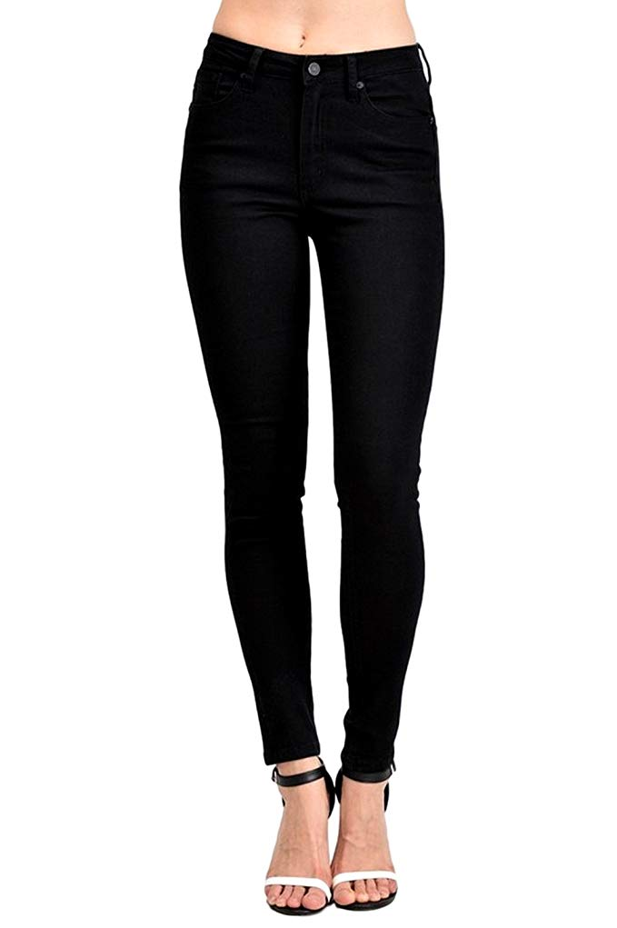 BLACK SKINNY JEANS - Erin Edit Shop