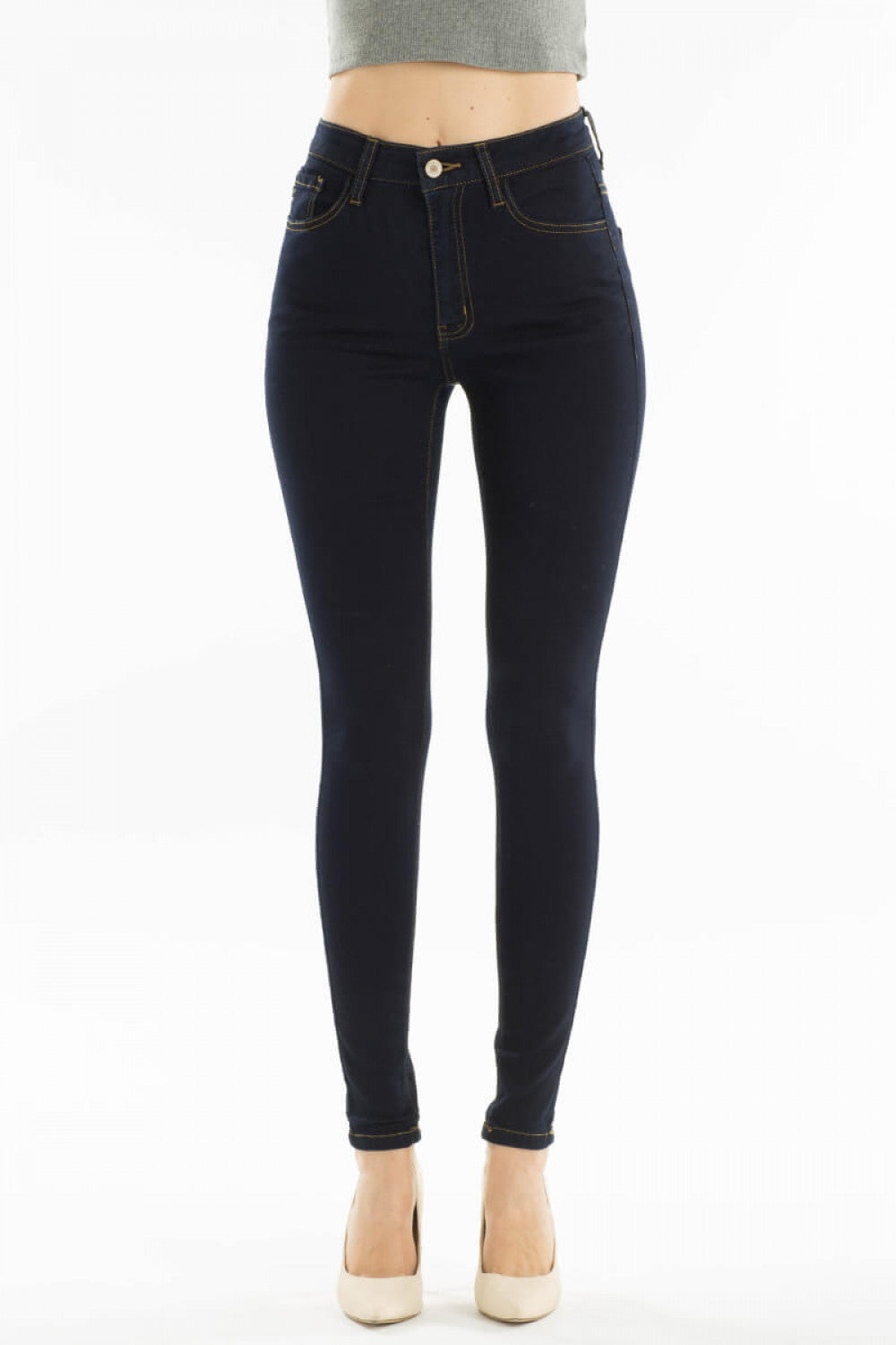 HIGH RISE SUPER SKINNY JEANS - Erin Edit Shop