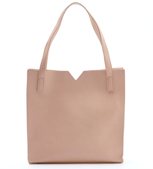 ALICIA TOTE - TAN - Erin Edit Shop