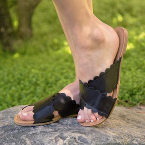 Archer Black Sandal - Erin Edit Shop