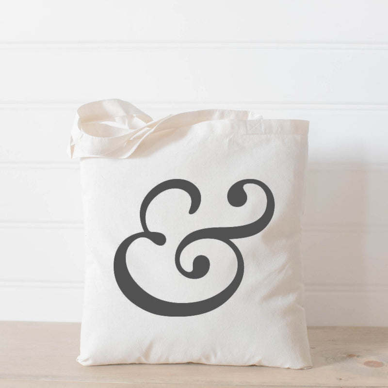 AMPERSAND TOTE BAG - Erin Edit Shop