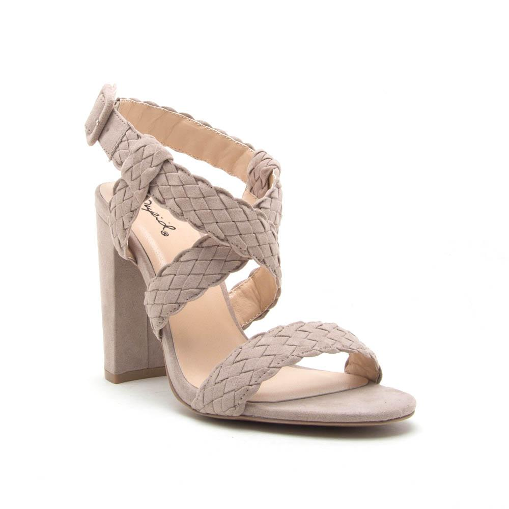 Cute In Cashmere Strappy Sandal - Erin Edit Shop