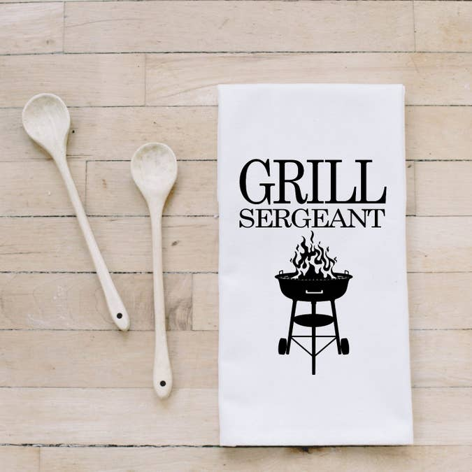 GRILL SERGEANT BAR TOWEL - Erin Edit Shop