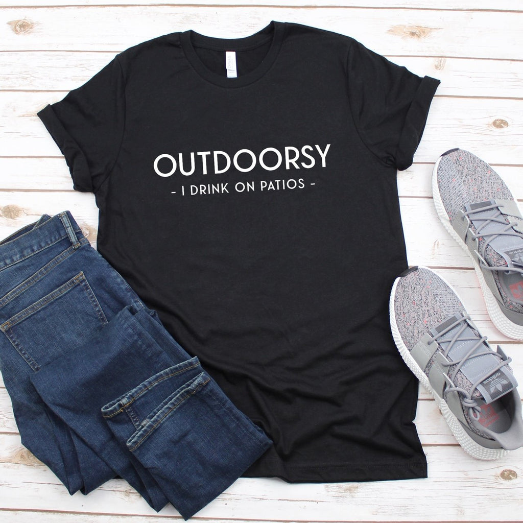 I'M OUTDOORSY T-SHIRT - Erin Edit Shop