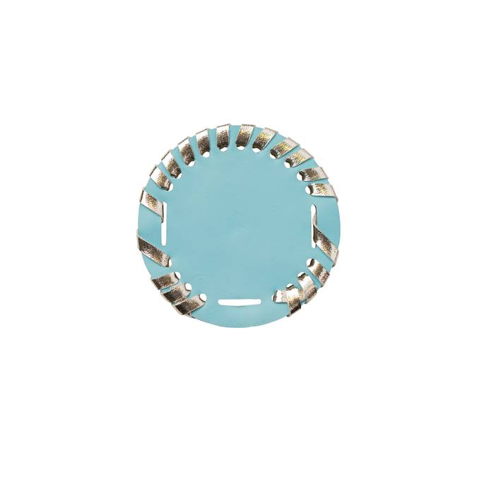 INTERCHANGEABLE SANDAL DISKS - TURQUOISE - Erin Edit Shop