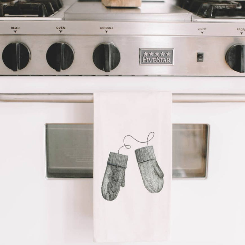 MITTENS TEA TOWEL - Erin Edit Shop