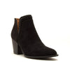 PRENTON BLACK SUEDE BOOTIE - Erin Edit Shop