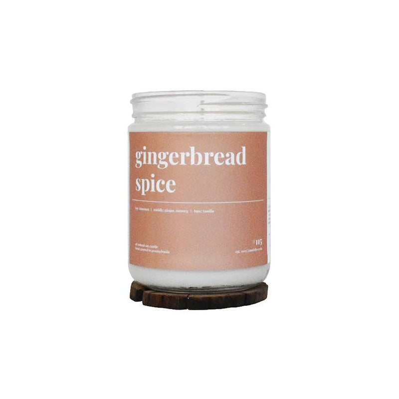 GINGERBREAD SPICE CANDLE