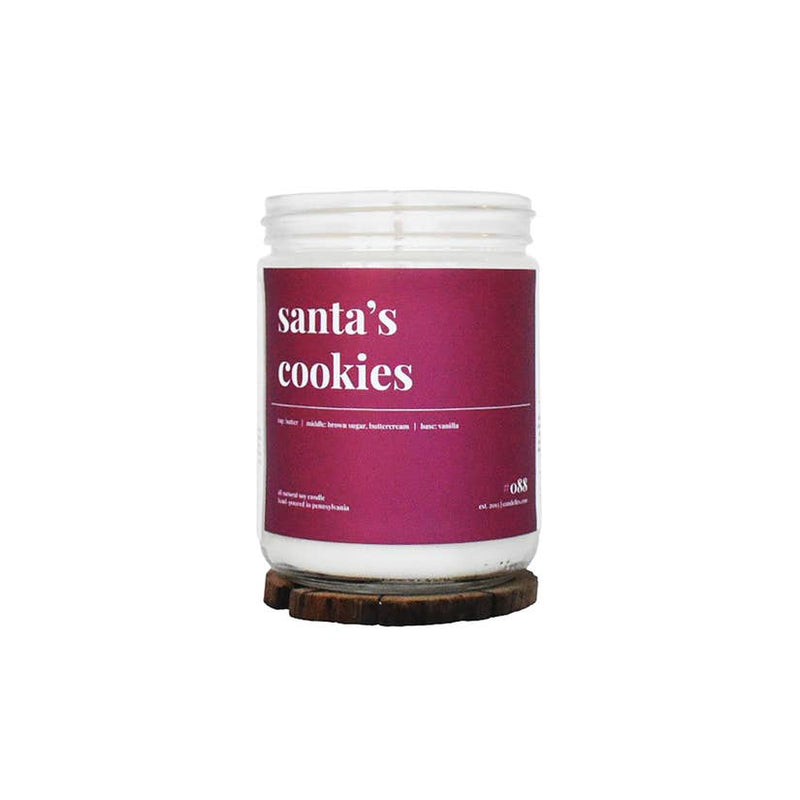 SANTA'S COOKIES CANDLE