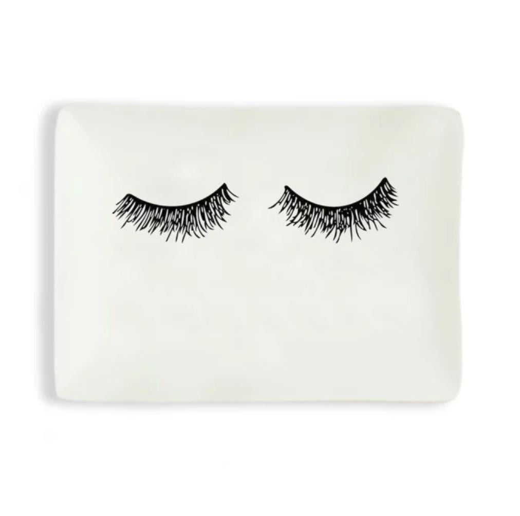 Eyelashes Jewelry Dish - Erin Edit Shop