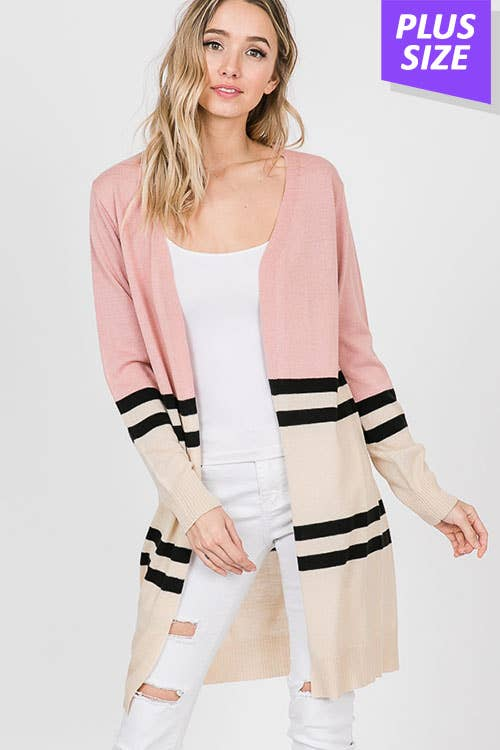 LINE IN THE SAND CARDIGAN
