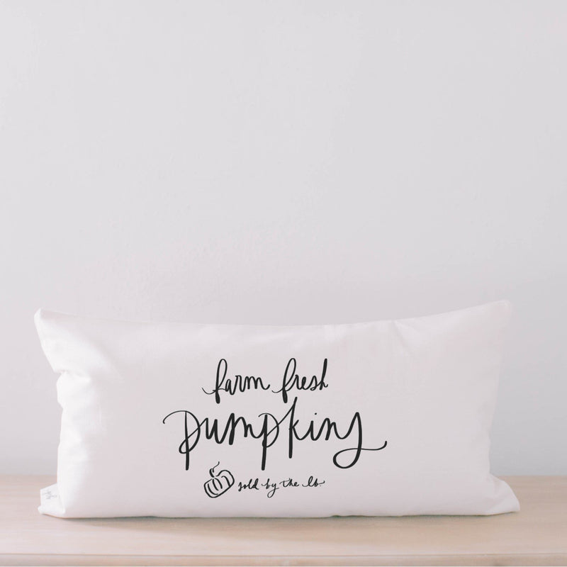FARM FRESH PUMPKINS PILLOW COVER - Erin Edit Shop