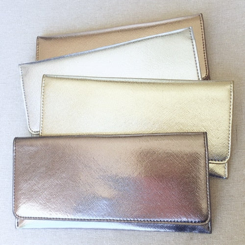 METALLIC MUST-HAVE WALLET - Erin Edit Shop