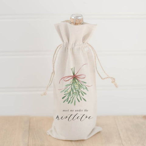 MEET ME UNDER THE MISTLETOE TEA TOWEL
