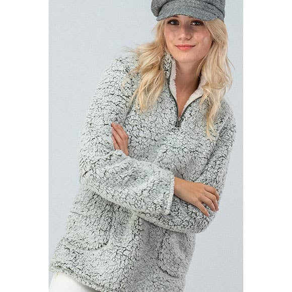 Sherpa Fleece - Sand - Erin Edit Shop