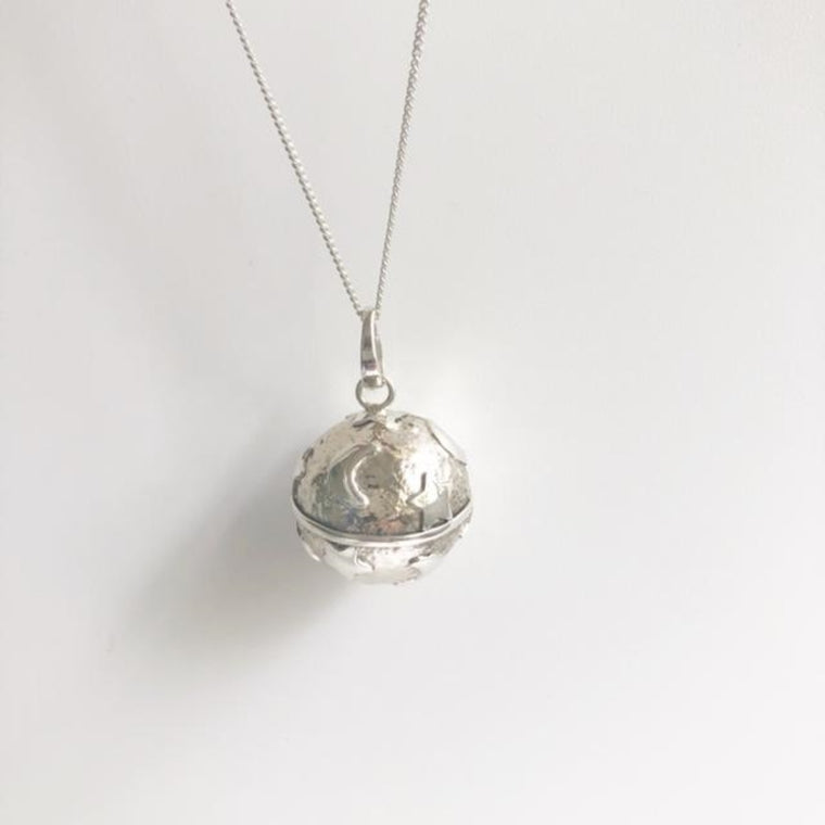 Harmony Ball Necklace - Moon & Stars