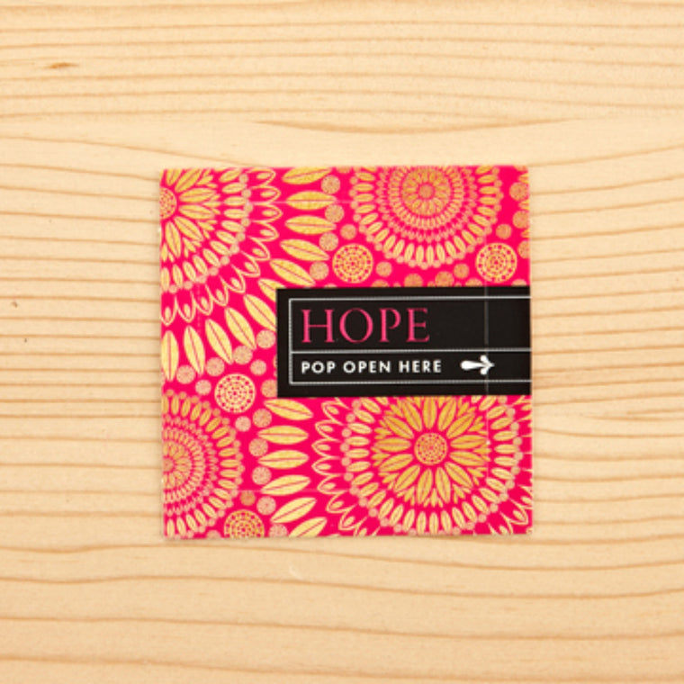 Hope ~ Pop Up Cards